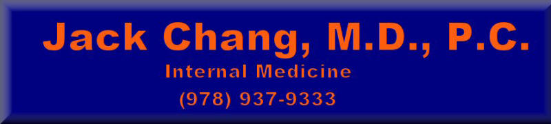 Website of Jack Chang, M.D.